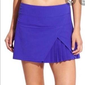 Athleta Purple Pleated Tennis Skort XL